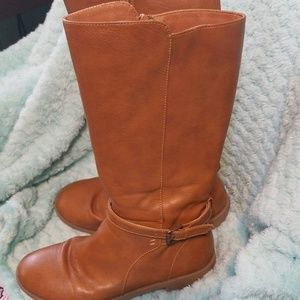 Girls Childrens Place Brown Boots